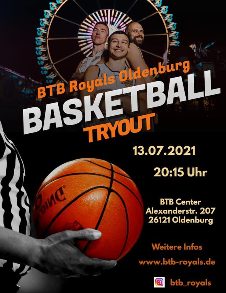 Basketball TryOuts BTB Royals